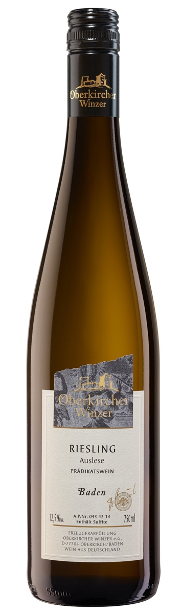 Collection Oberkirch, Riesling Auslese