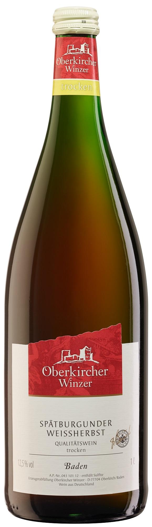 Collection Oberkirch , Spätburgunder Weißherbst Qualitätswein trocken