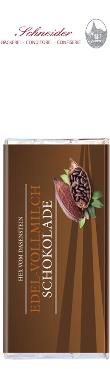 Vollmilchschokolade, Hex vom Dasenstein
