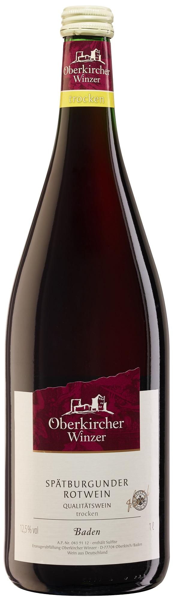 Collection Oberkirch, Spätburgunder Rotwein Qualitätswein trocken