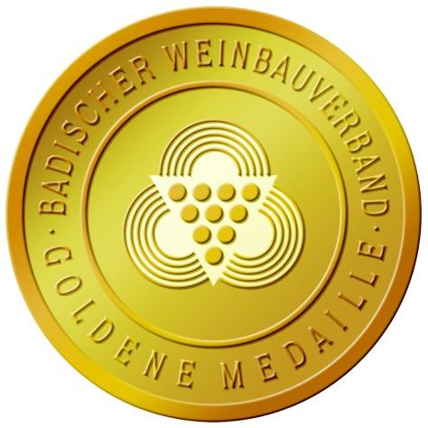 Goldmedaille, Landesweinprämierung Baden
