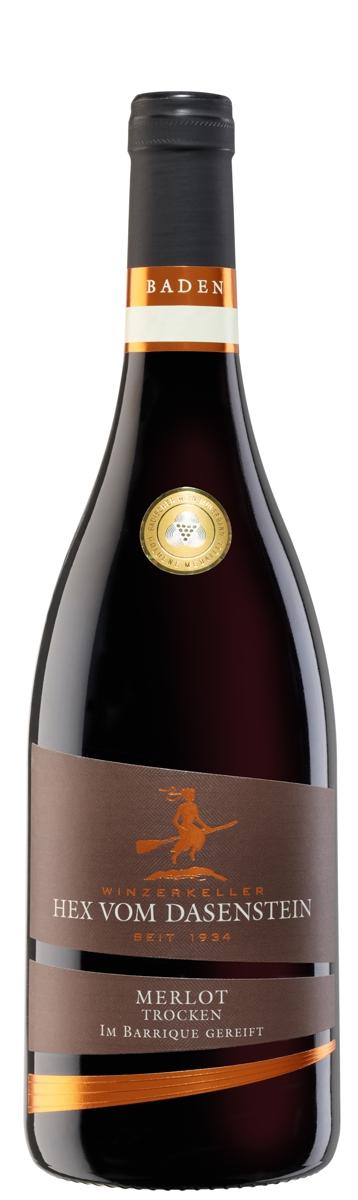 Hex vom Dasenstein BARRIQUE, Merlot Qualitätswein trocken
