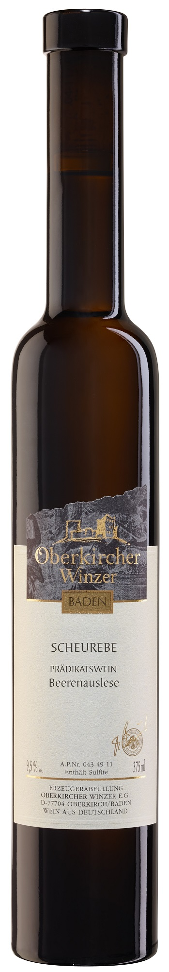 Collection Oberkirch, Scheurebe Beerenauslese