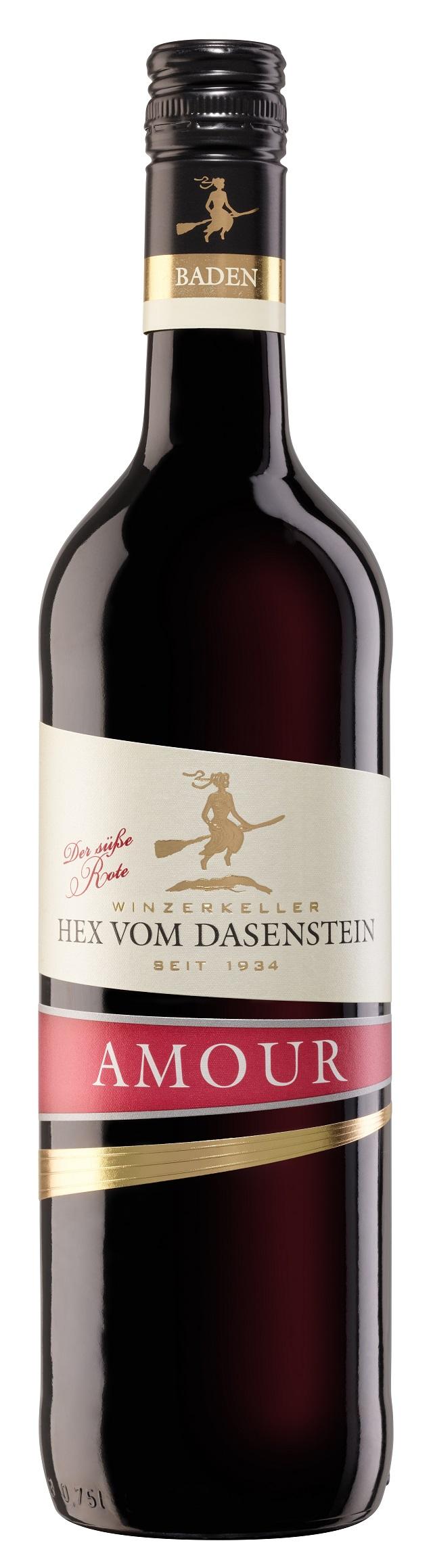 Hex vom Dasenstein AMOUR, der süße ROTE - Qualitätswein