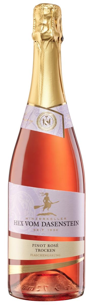 Hex vom Dasenstein, Pinot Rosé Sekt trocken