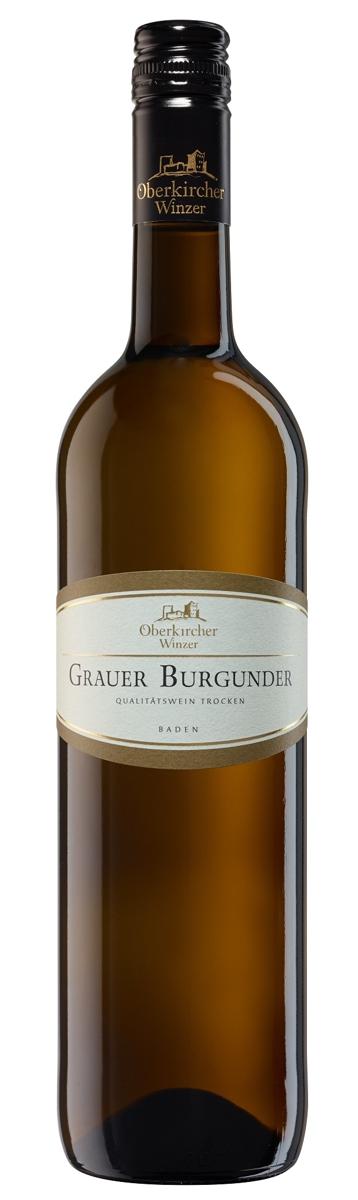 Vinum Nobile , Grauer Burgunder Qualitätswein trocken