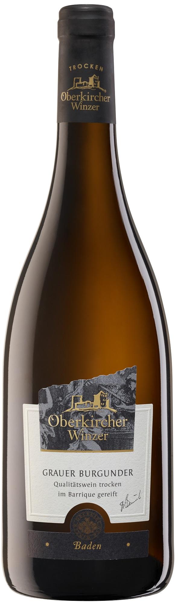 Collection Oberkirch, Grauer Burgunder Qualitätswein trocken -Barrique-