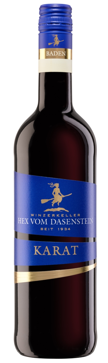 Hex vom Dasenstein KARAT, Spätburgunder Rotwein Qualitätswein halbtrocken